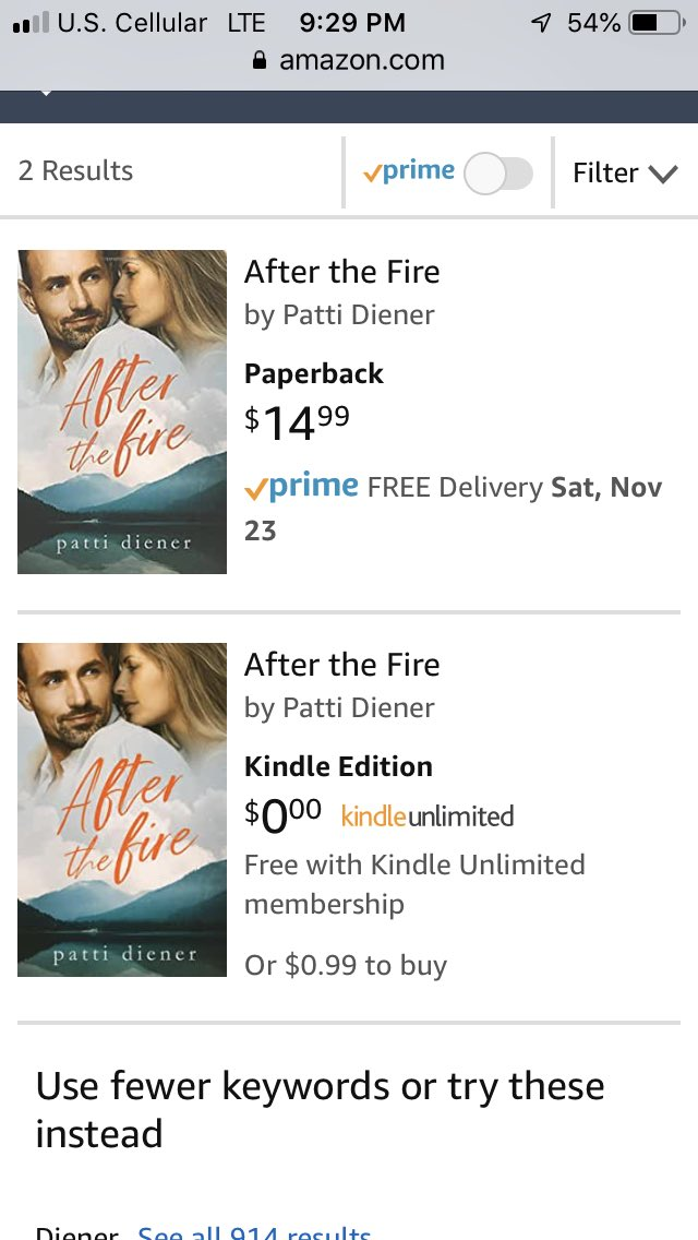 Well look what happened today! Both my paperback and eBook version of #AFTERTHEFIRE are now available on Amazon. I'm so excited I CANT STAND IT! #selfpublishing #indieauthors #debutnovel #amwritingromance #WritingCommunity