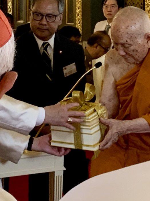 #PopeVisitThailand