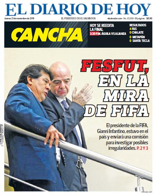 XVIII Congreso Ordinario de UNCAF y visita del presidente de FIFA Gianni Infantino a El Salvador. EJ3jHQ_XYAAzwaz?format=png&name=small