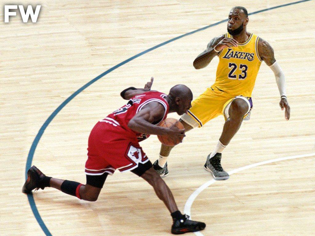 Hoop Central On Twitter Who Wins 1 On 1 Game Michael Jordan Vs