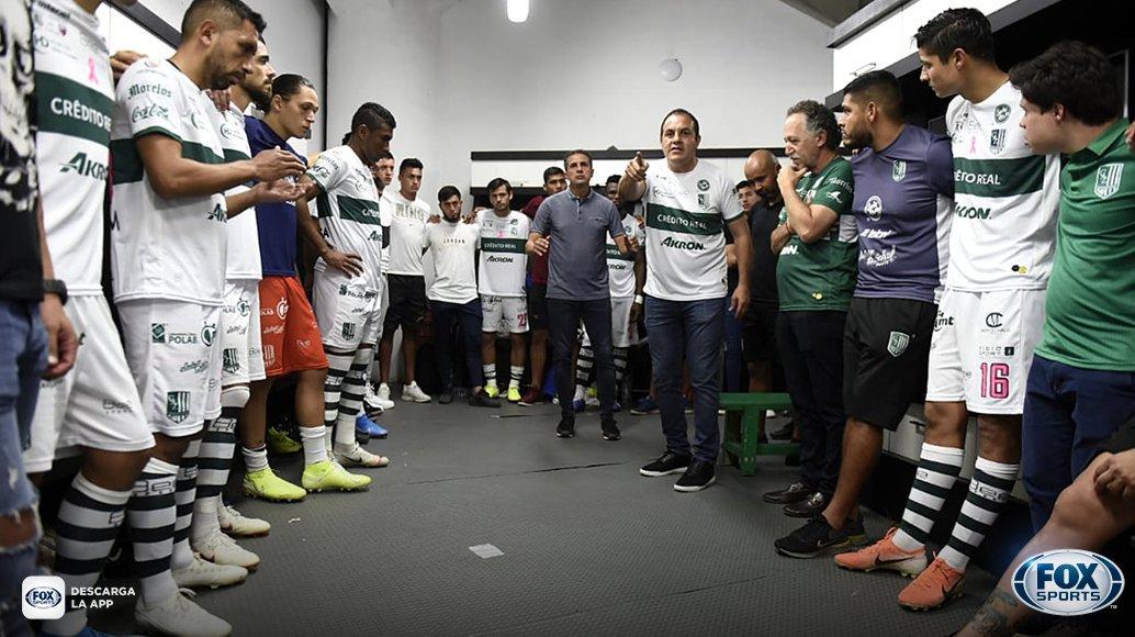 ¡EL DISCURSO DEL GOBERNADOR!   #CentralFOX La arenga de Cuauhtémoc Blanco a los jugadores del Zacatepec previo a la semifinal de ida del Apertura 2019 frente al Atlante.