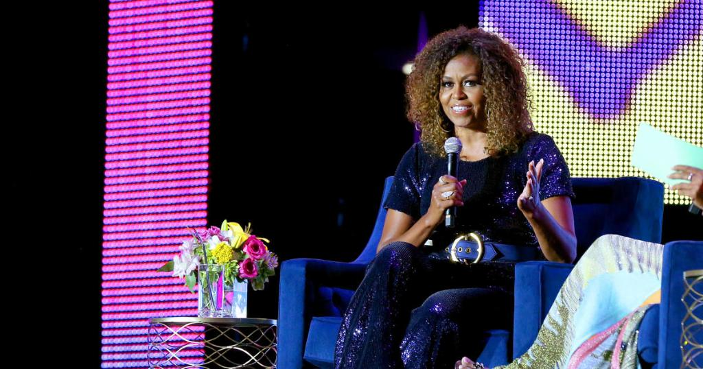 Michelle Obama has been nominated for a Grammy