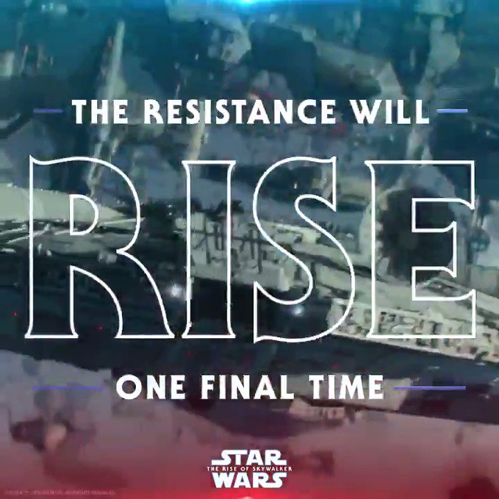 One final time. See #StarWars: #TheRiseOfSkywalker in theaters December 20. Get your tickets: fandango.com/TheRiseOfSkywa…