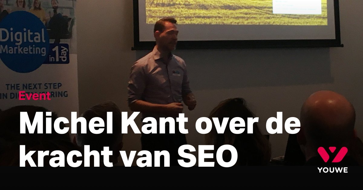 test Twitter Media - Now on stage: Michel Kant over de kracht van SEO. @ Podium 8, Spant! #Dimday19 #Youwe #SEO https://t.co/nFizvhtyWl
