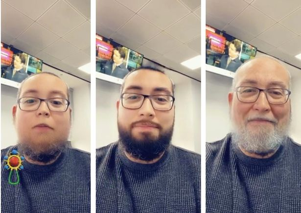 Snapchat's new 'Time Machine' filter transforms your face from young to old