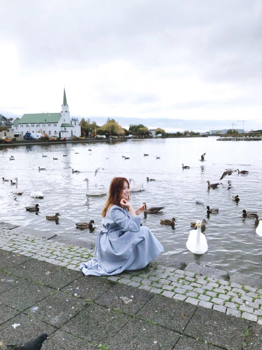 アイスランドの首都レイキャビクにて🏘白鳥とみさみさ♡#衛藤美彩フォトブック#衛藤美彩#大人の美彩先輩予約はこちら👉【セブンネット】【楽天】 【アマゾン】 【HMV】