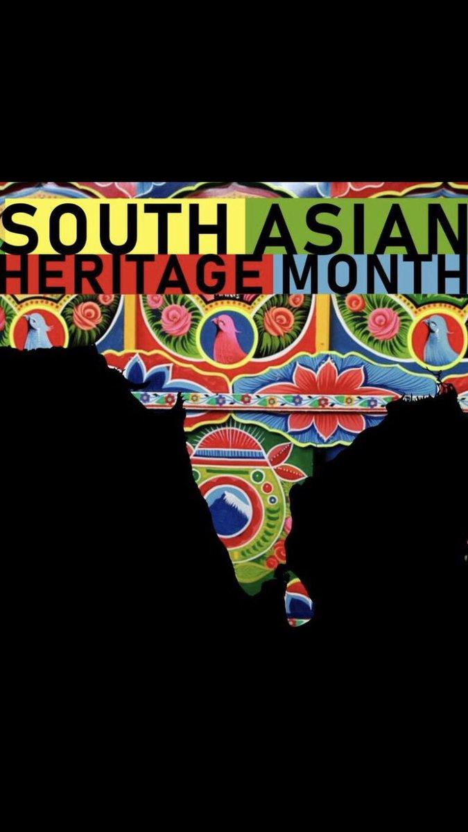 southasianheritagemonth hashtag on Twitter