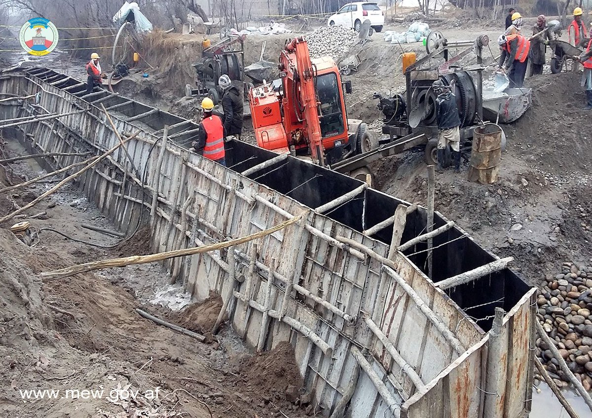 The reconstruction work of Turkman canal is going very well; This canal is located in Imam Saheb district of Kunduz province in order to manage water, increase agricultural land, creating jobs and improving the environment.  Click the link for more info https://www.facebook.com/MEW.AF/posts/2462999057150793…
