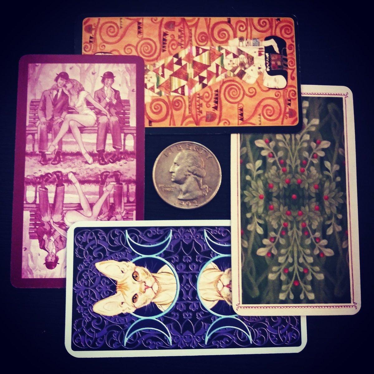 My #mini #tarot collection 😍