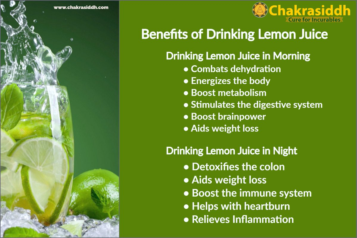 Chakrasiddh Health Tips. Benefits of Drinking Lemon Water in the Morning & Night. #Chakrasiddh #ayurveda #healthtips #health #lemonwater #lemon #benefitsoflemonwater #diet #medicine #weightloss #lifestyle #herbal #ayurveda_health_tips #water