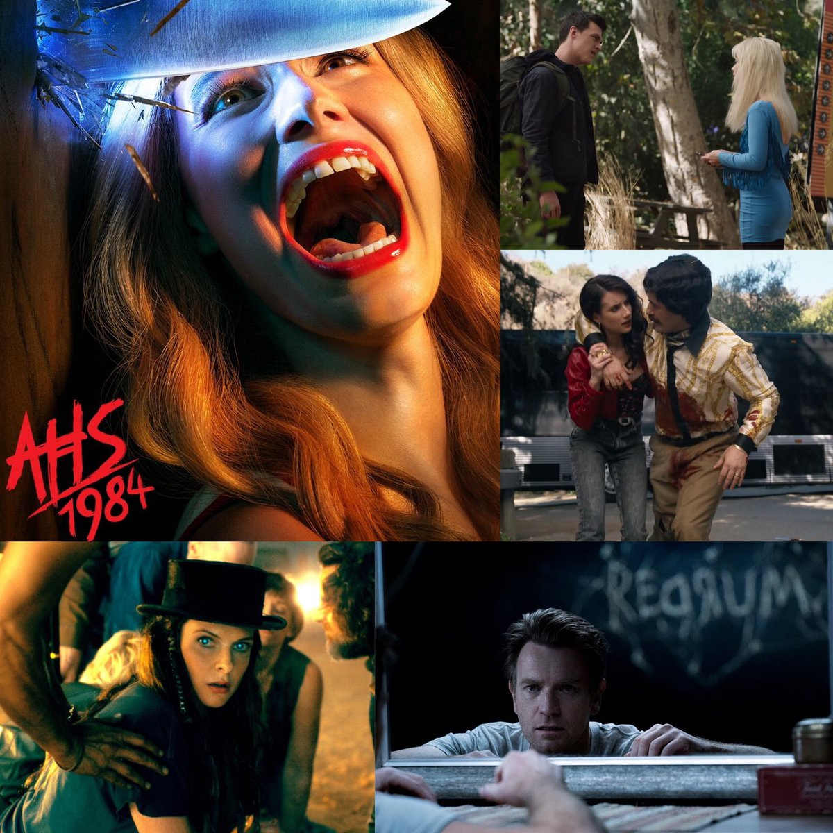 Our new episode is up! We say our final goodbyes to #CampRedwood and give you our thoughts on the #AHS1984 finale. We also review #DoctorSleepMovie! Let us know how you felt about #FinalGirl and if you thought #TheShining sequel held up. 🔪  https://tinyurl.com/ub2663s