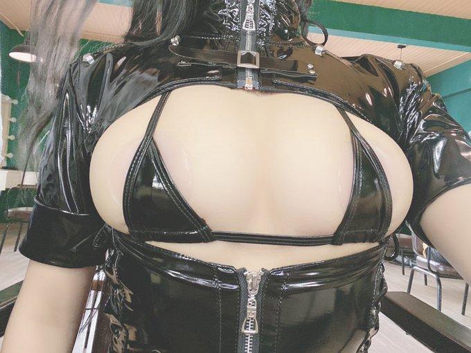 コスプレイヤー抱走莫子aaのTwitter自撮りエロ画像63