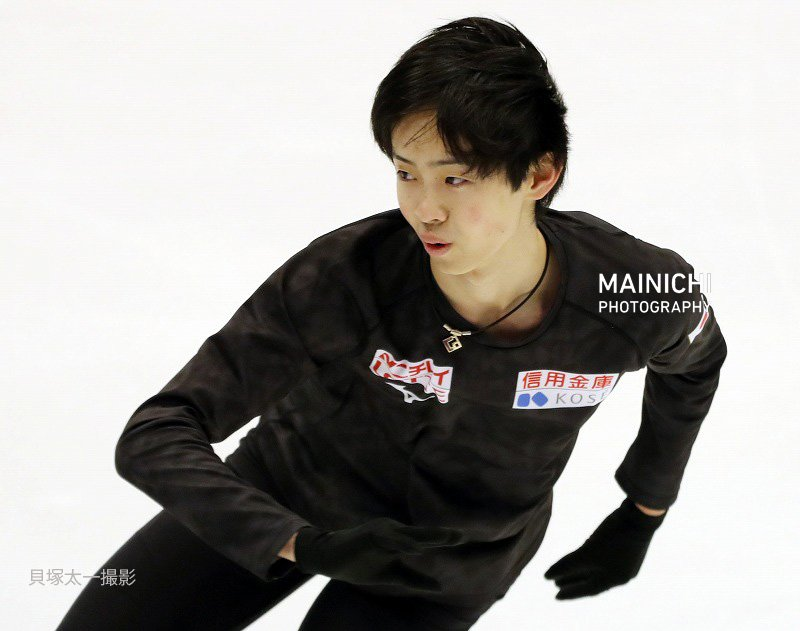 #NHK杯フィギュア の公式練習。#島田高志郎 選手の練習風景も届いています。写真特集を更新中→#フィギュアスケート #フィギュア