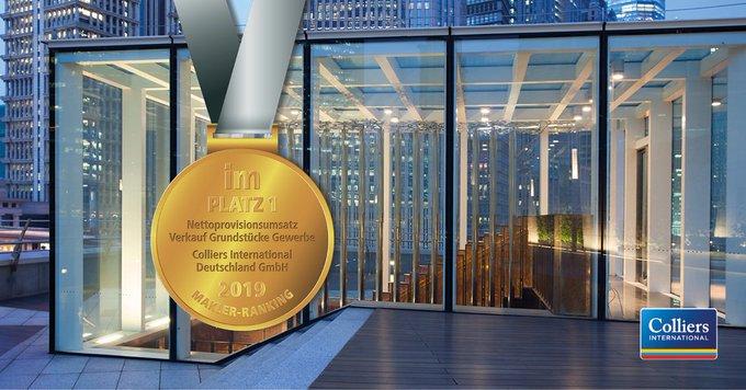 Vielen Dank - wir freuen uns über die starken Platzierungen im Immobilien Manager Ranking! Beim Nettoprovisionsumsatz für den Verkauf von Gewerbegrundstücken konnten wir den ersten Platz verteidigen und den Umsatz fast vervierfachen.<br>Wachsen Sie mit!:  t.co/QEaPmHzzCP