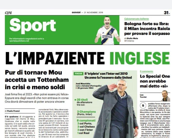 #Mourinho