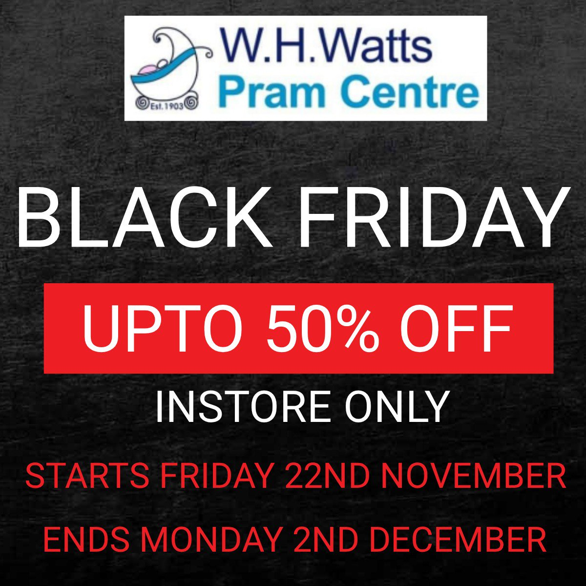 W H Watts Pram Centre On Twitter