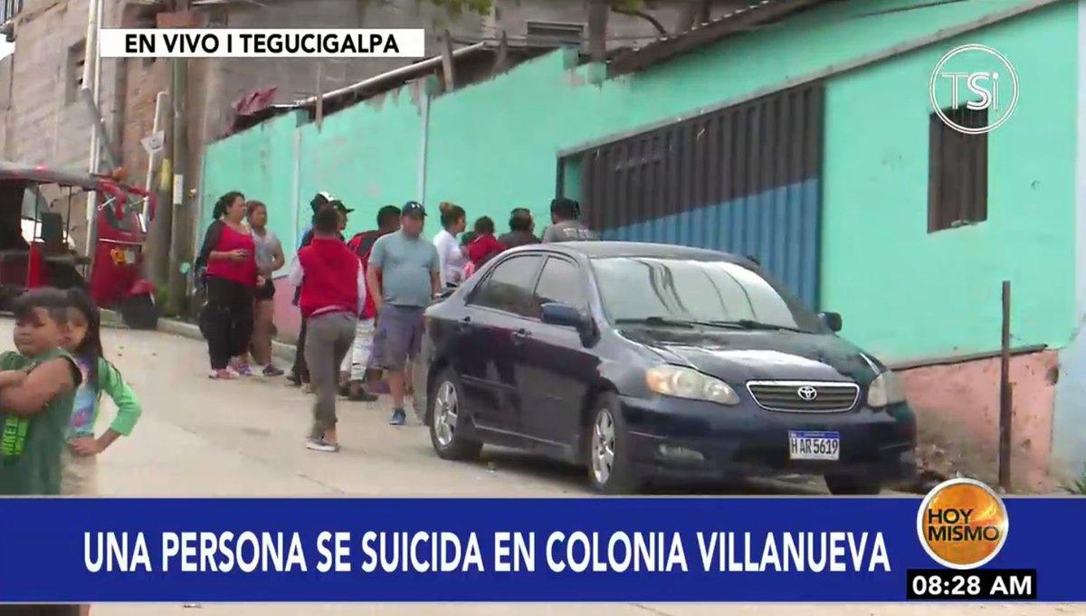 [𝗘𝗡 𝗩𝗜𝗩𝗢] 🔴 |En #HoyMismo #PrimeraEdición, un joven de 19 años de edad se suicidó esta mañana en su casa de habitación en la col. Villa Nueva de la capital.