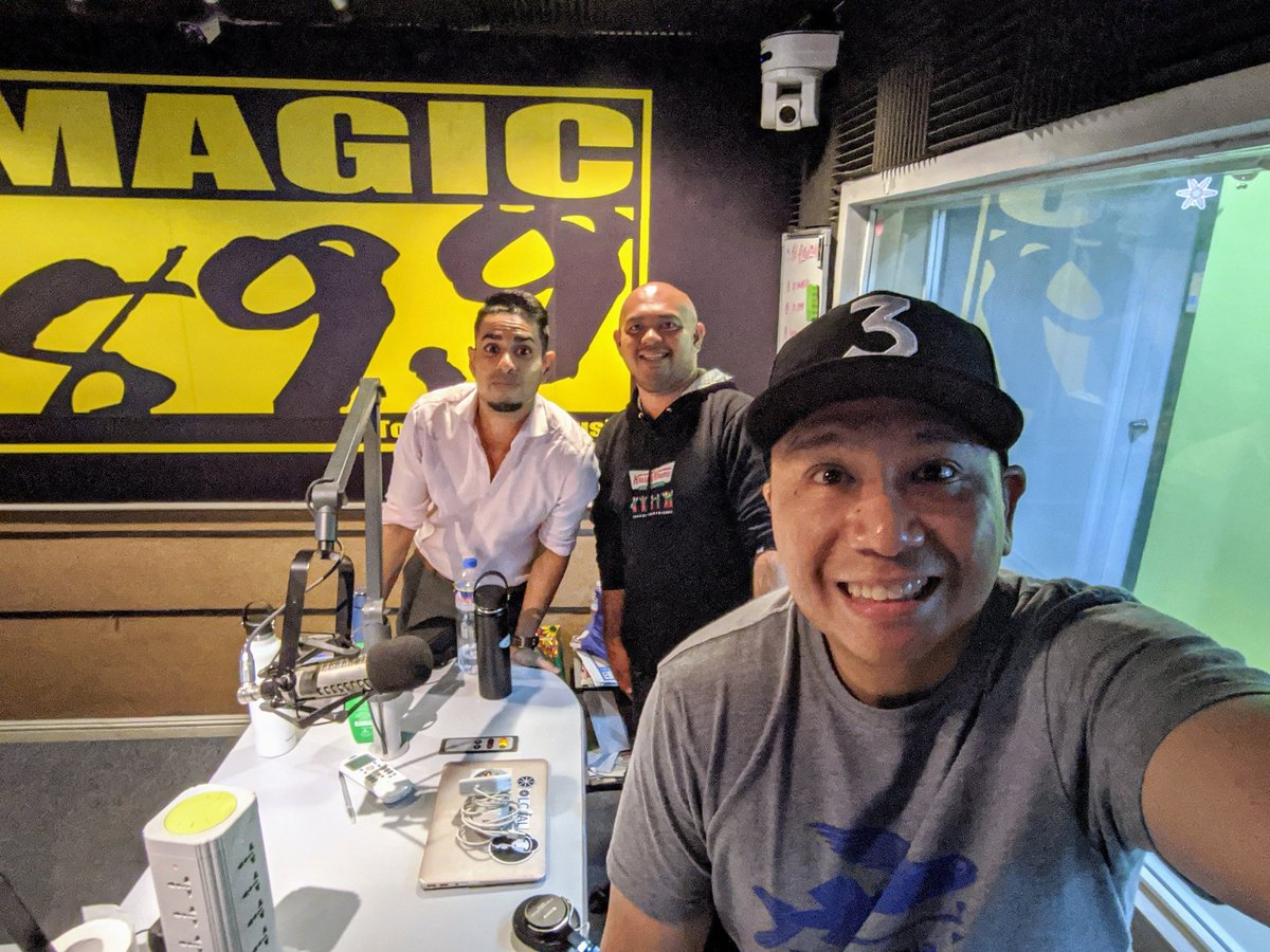 Have a great weekend! Catch you again next week! @_slickrick @sam_yg @_lovesurvivor @Magic899 #KamoteNights #BeTheMagic #TodaysBestMusic