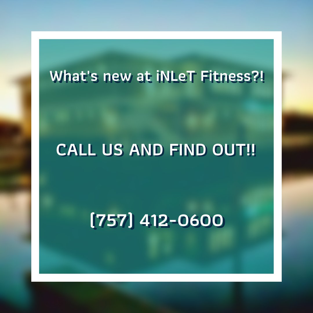 We have many exciting things happening at iNLeT.  Stay up to date and give us a call! #iNLeT  #iNLeTFitness  #VirginiaBeach  #VAbeach  #FitnessInspiration  #MotivationalFitness  #Health  #GymLife