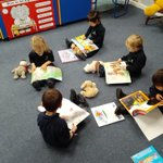Image for the Tweet beginning: Nursery 1 are reading their