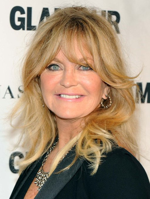 Happy birthday, Goldie Hawn