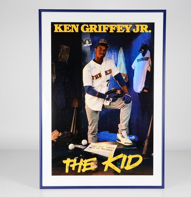 Happy 50th Birthday to one of the greatest of ALL time! Ken Griffey, Jr.!