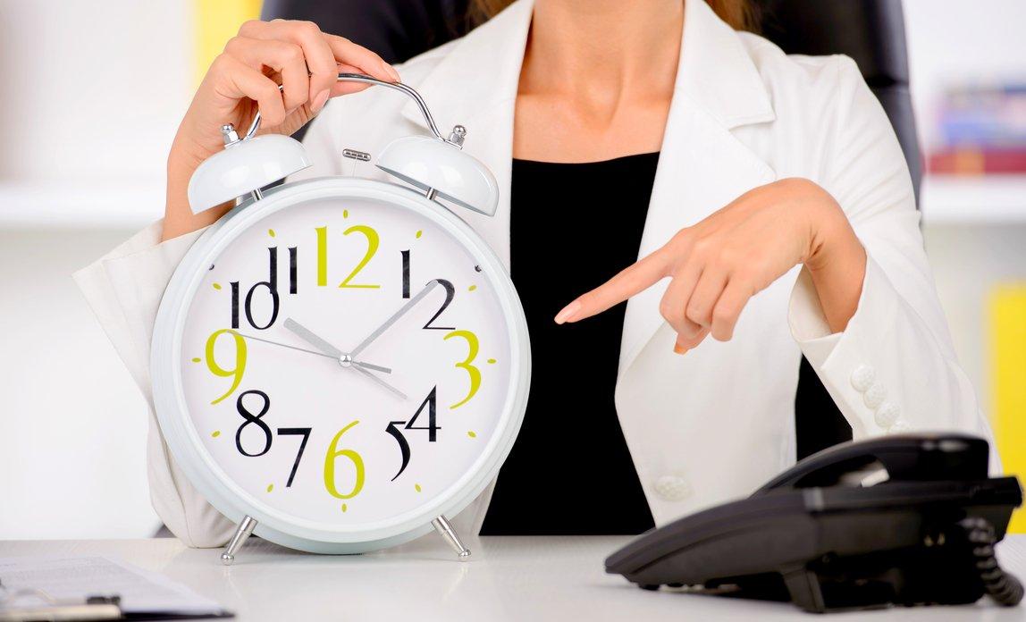 Фото планирования рабочего времени