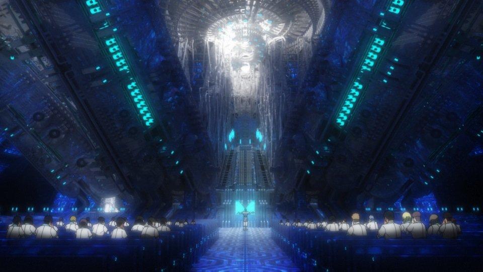 放送前に各話の見どころを制作スタッフが解説!【PSYCHO-PASS サイコパス 3/制作スタッフ見どころポイント】「第5話」5話の注目ポイントは、炯が調査で訪れることになる公認宗教団体〈ヘブンズリープ〉の背景美術。光と影が美しく神秘的な空間に仕上がっています!#pp_anime
