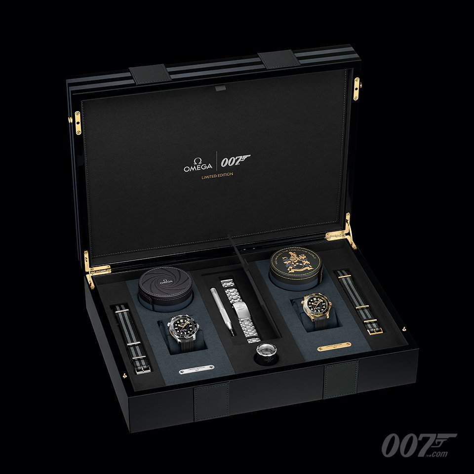 James Bond Limited Edition Globe Trotter Omegawatches