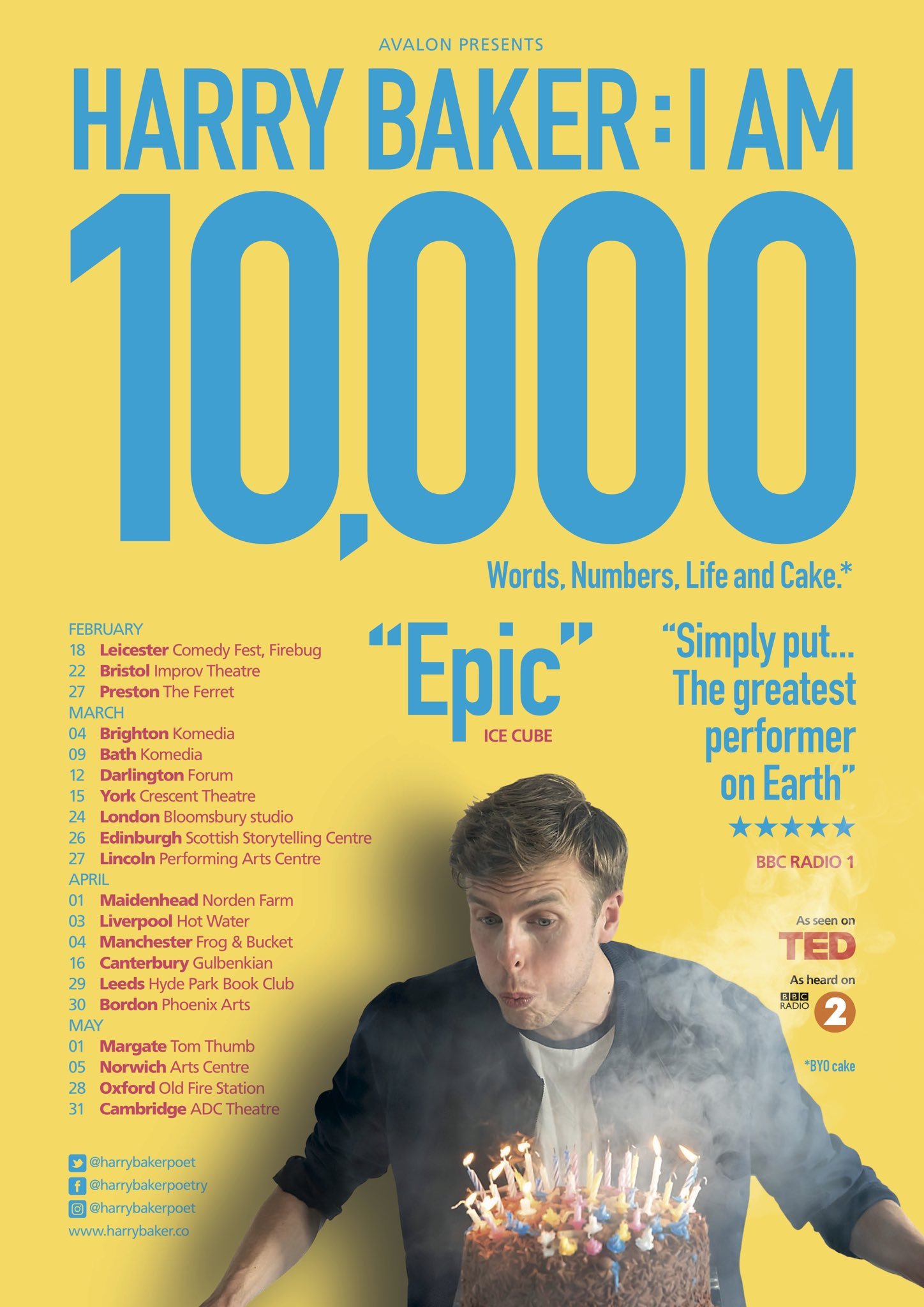 i am 10000 poster