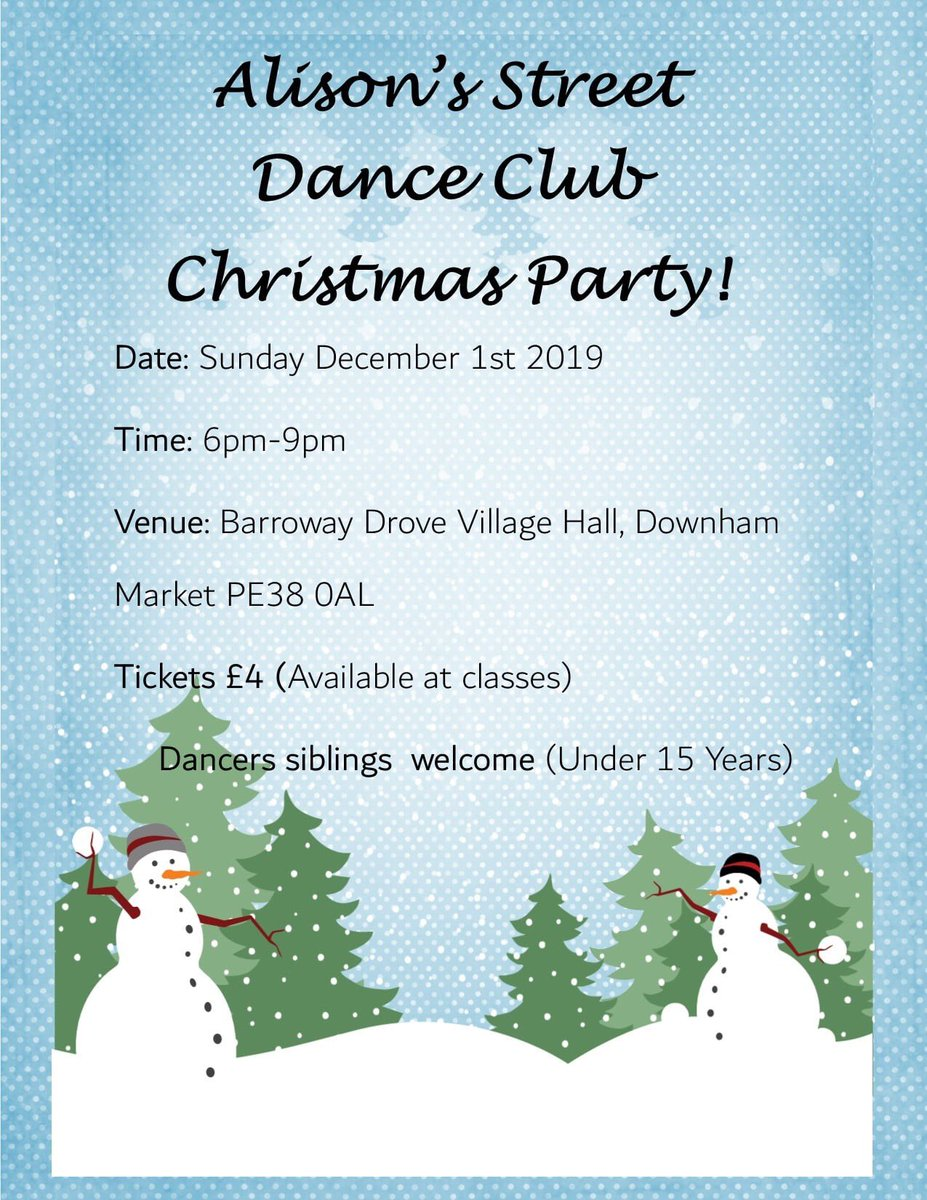 Get your tickets tonight a Class #christmasparty #dance #festive #presentation #streetdance https://t.co/PisVURBIJI
