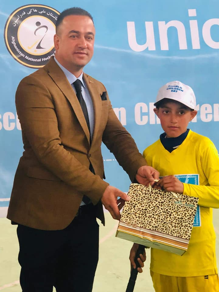 Children in Aghanistan, with the support of the Afghanistan Hockey Federation, celebrated the UNICEF World Children's Day on the 20th of November, 2019.For the full details of activities, please visit: https://bit.ly/2OANQNt #WorldChildrensDay@FIH_Hockey @UNICEF