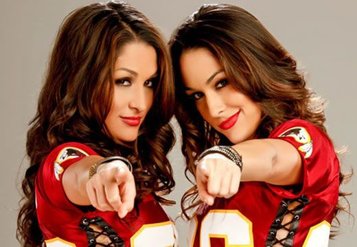 Happy Birthday To WWE SuperStars Nikki & Brie Bella