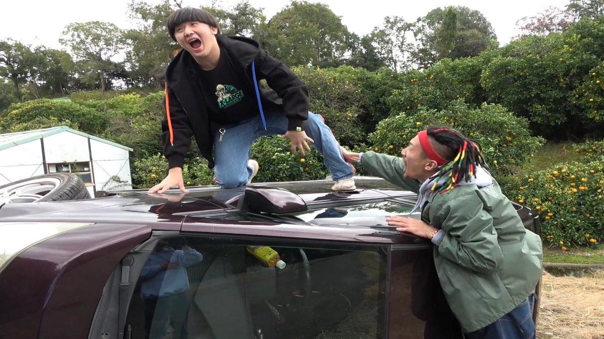 今日の動画は過去最大のドッキリ友達の車ひっくり返してみた【ドッキリ】怒りのあまりMYついに、暴力に、、