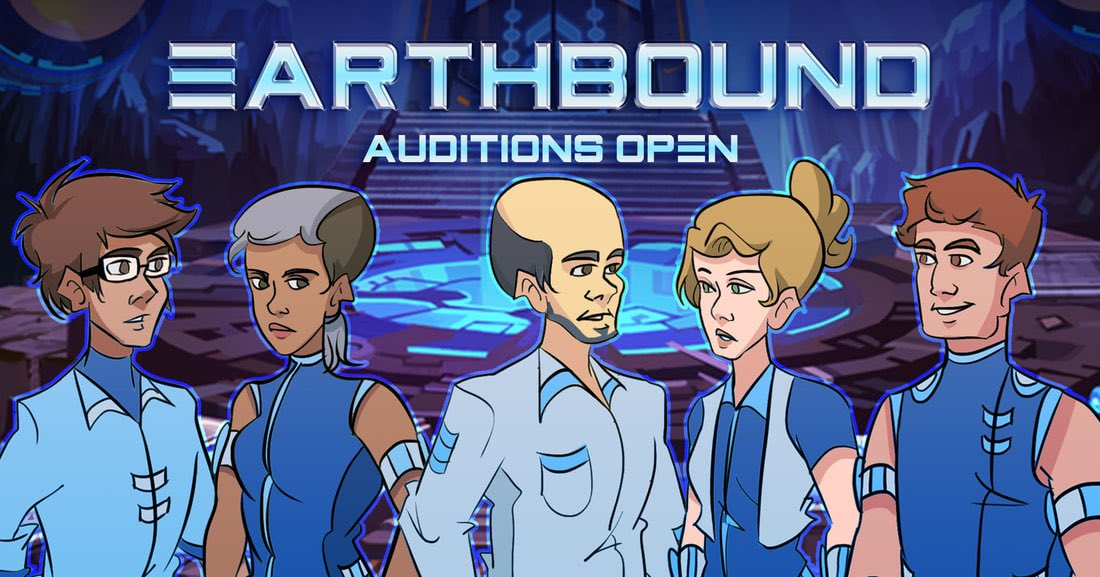 """""""After being stranded in space, a team of intergalactic explorers must cross the universe to find their way home."""" Media Context is searching for VAs to star in their astral adventure. Audition details are found here - https://www.mediacontex.com/earthbound.html"""