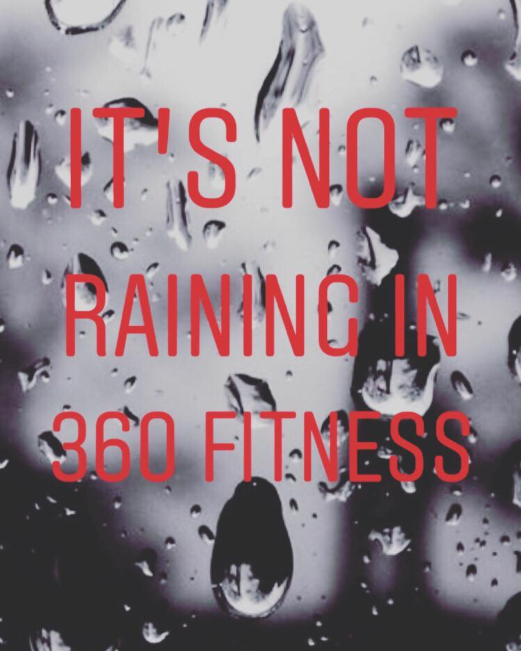 It may be a very wet Thursday in #Kilkenny  but guess what?  It's not raining in #360Fitness  🏋🏻♀️