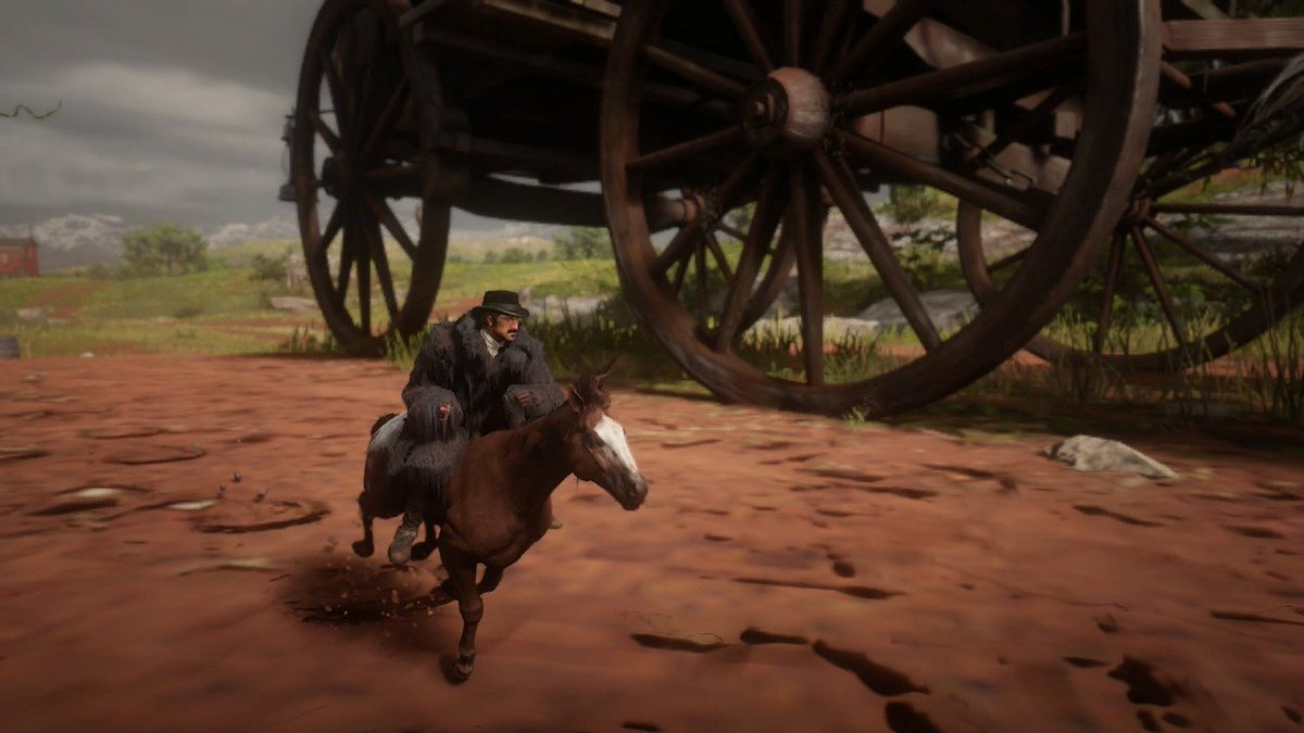 Red Dead Redemption 2 PC mod lets you be a tiny wee cowboy  https://www. eurogamer.net/articles/2019- 11-21-red-dead-redemption-2-pc-mod-lets-you-supersize-your-horse   … <br>http://pic.twitter.com/xMIYXBLVlZ