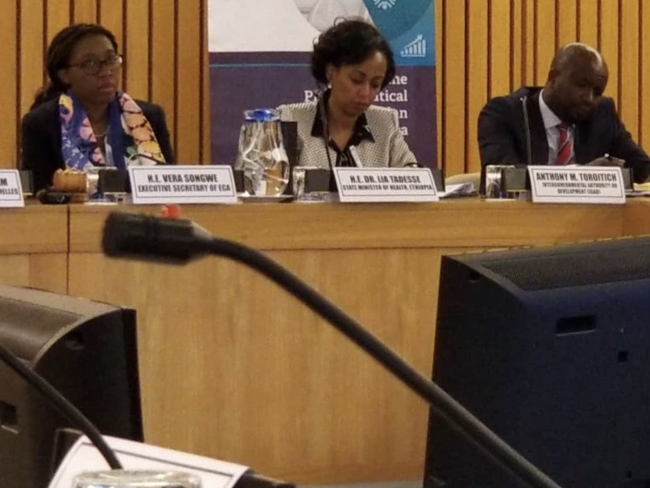 A successful high-level stakeholders meeting was held today to leverage the opportunities for  @AfCfta pooled procurement of essential drugs with particular focus on Maternal and Child health care products and local pharmaceutical production for the continent. (1/2)