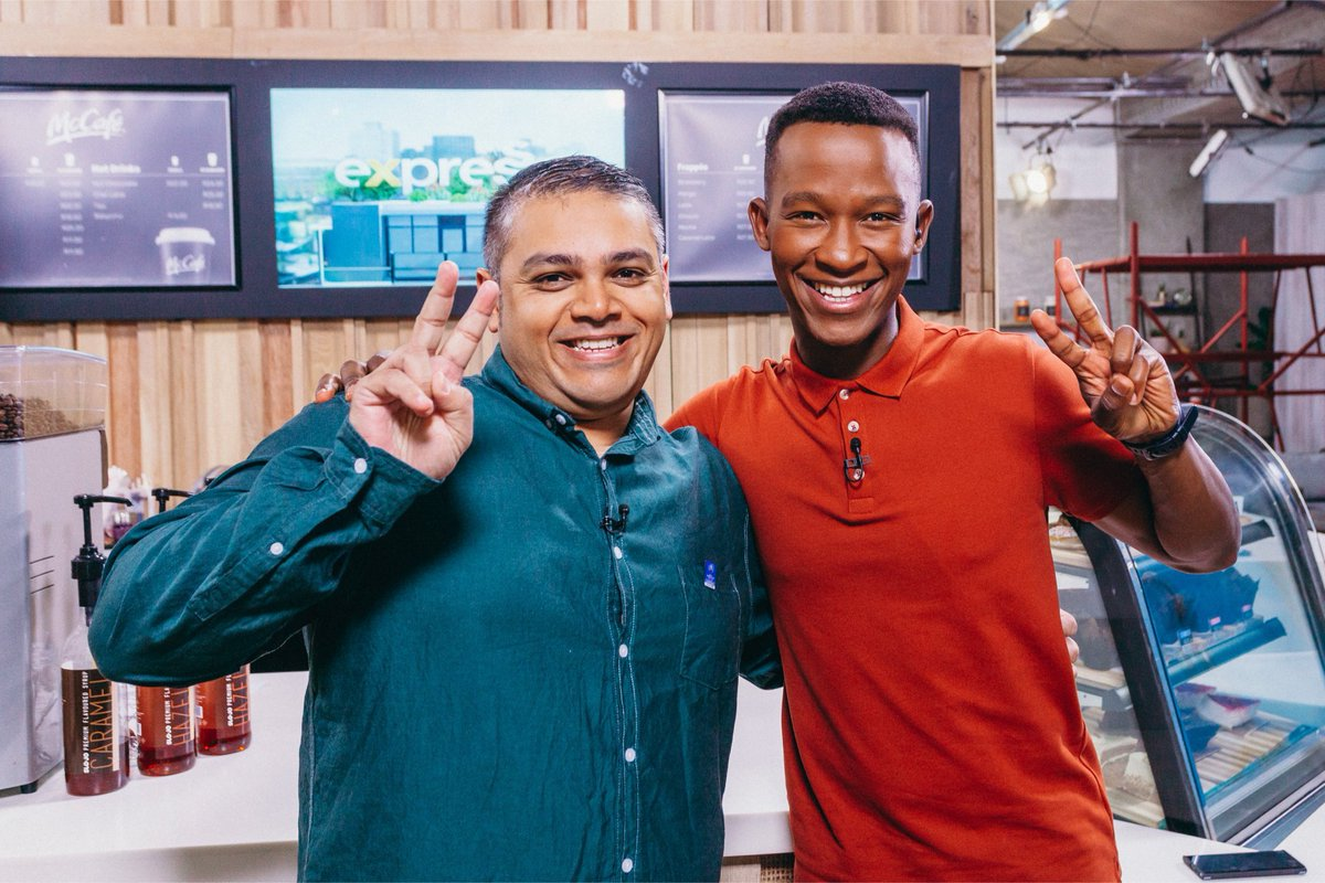 #TBT It was cool being back on the @expressoshow last week to chat about the @Springboks and the @rugbyworldcup in Japan 🏉🇿🇦🥇🏆 #ExpressoShow #Springboks #RWC2019 #RugbyWorldCup #ThrowbackThursday 📸 @Esteedv