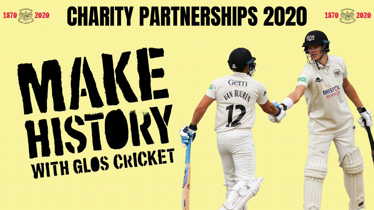 test Twitter Media - 🏏@Gloscricket has launched its first ever charity partner programme with a view to finding three different charitable organisations to work with in its 150th anniversary year 🏏  For more info & how to apply: https://t.co/b4ksFHX3dG  #GoGlos #Cricketfamily https://t.co/AB3fsCG1jO