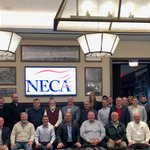 Our Midwestern Labor Relations Seminar was held earlier this month at University of Notre Dame. Chapter Executives and staff gathered for presentations on topics such as NECA 1025, best practices for NECA chapter managers, and more.  #WeAreNECA