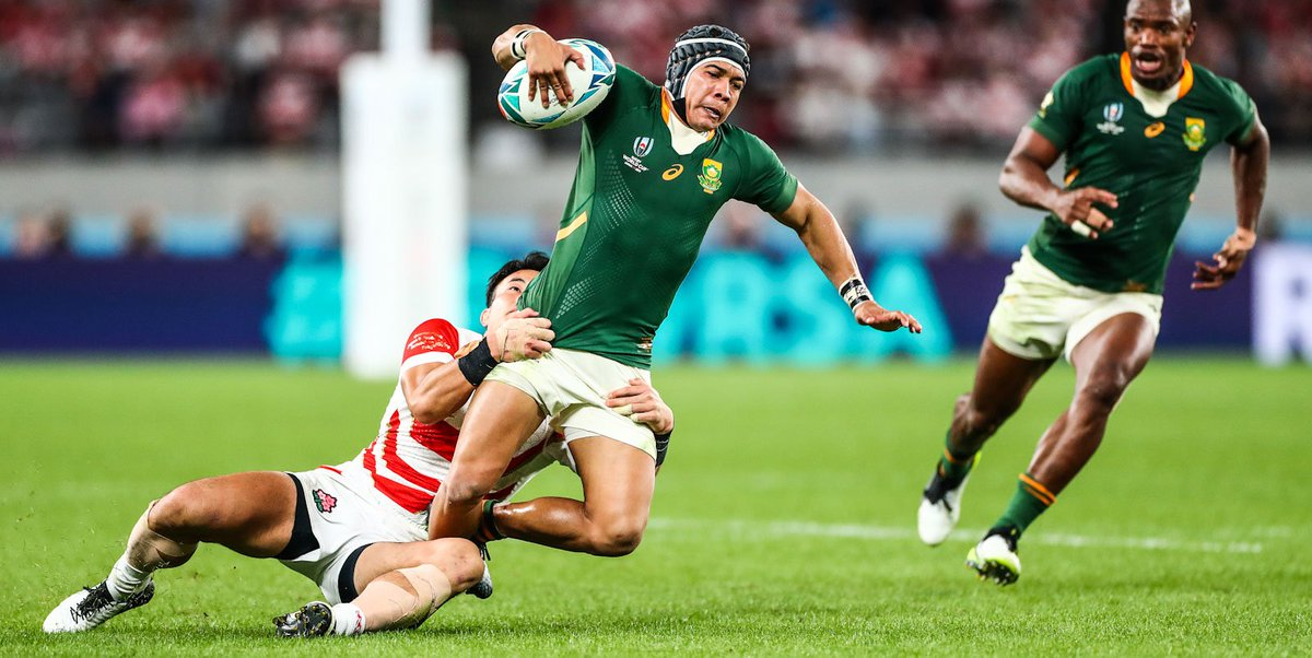 🇯🇵 Recapping Japan 2019: Part 4 🥊 Its RWC knock-out time 🌸 Brave Blossoms await in Tokyo 💥 Controlled performance by SA 🔗 bit.ly/35ld5Ko #StrongerTogether #RWC2019