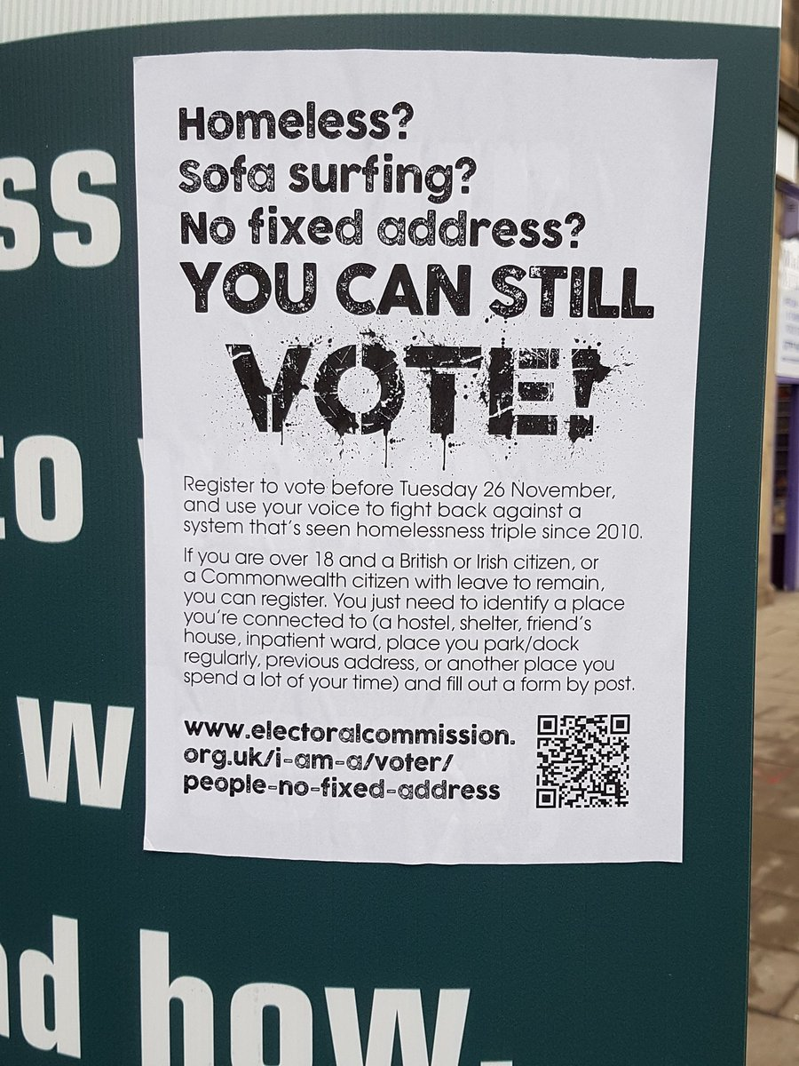 Take control. Vote