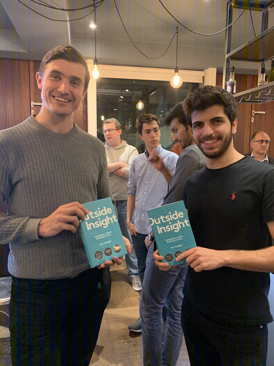 Looking forward to our final #alternativedata  event chapter of the year happening next week with @SimilarWeb  @CausaLens  @EPFR  ! #tbt  to our last event and our happy guests enjoying @Meltwater  's @jorn_lyseggen  #outsideinsight  book. #ThursdayThoughts
