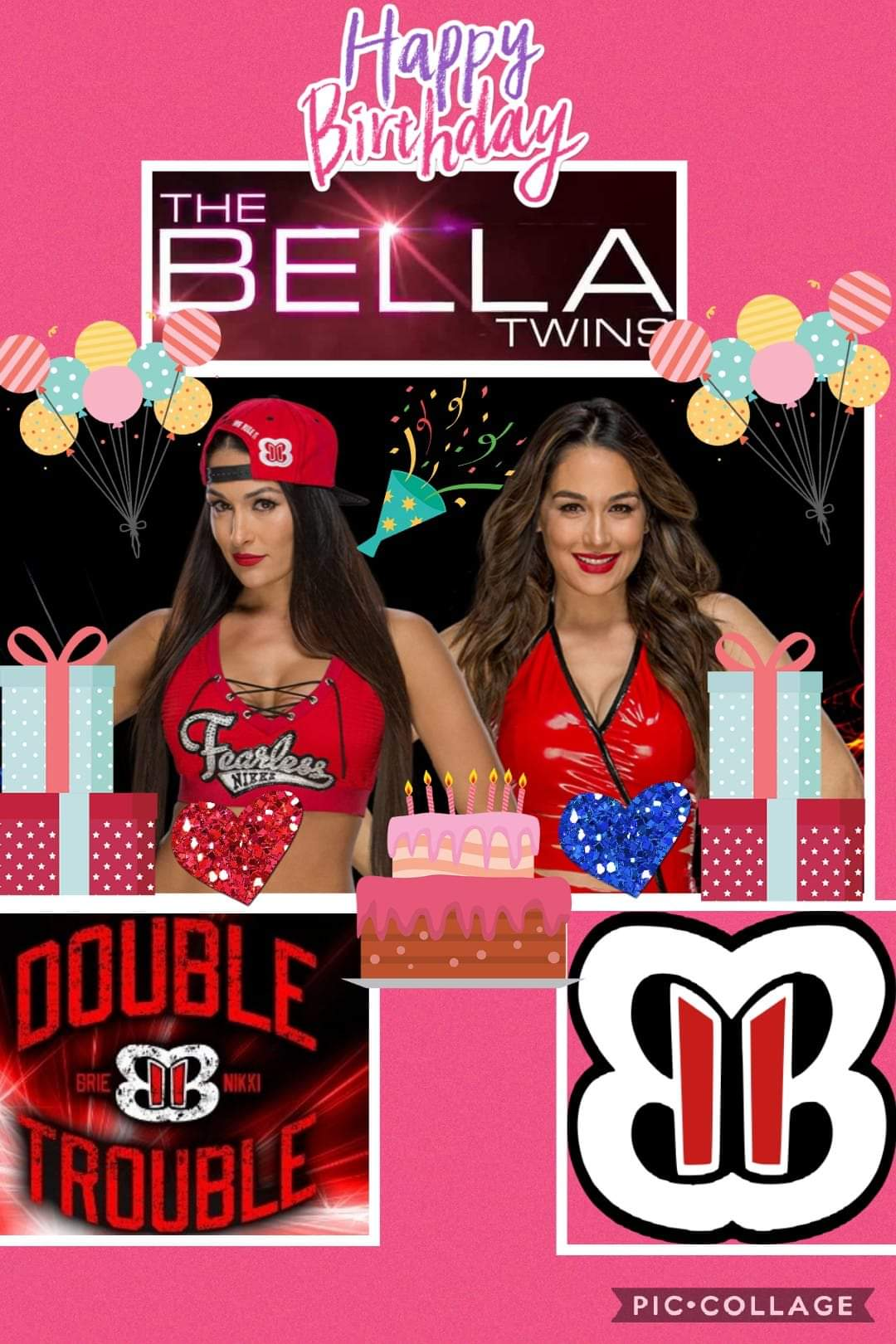 Happy birthday to the bella twins