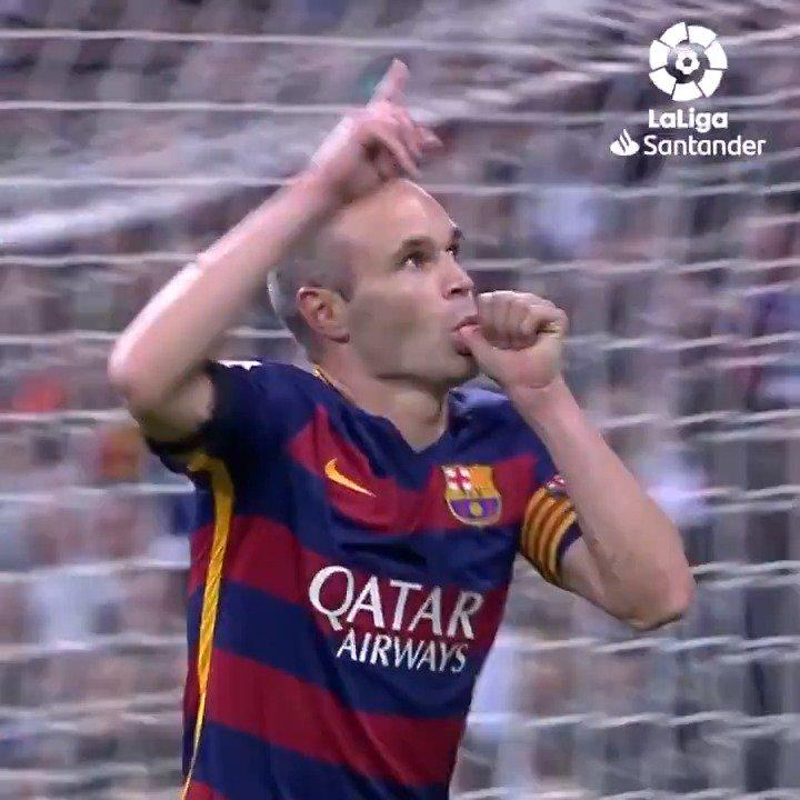 #OnThisDay in 2015...    @andresiniesta8 scored this unforgettable goal in  #ElClasico!     @FCBarcelona