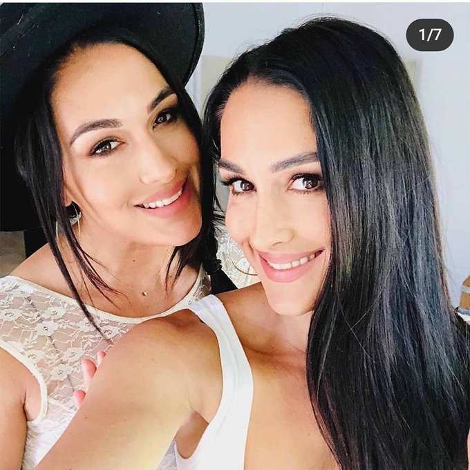 I want to send a big happy birthday to The Bella Twins happy birthday Nikki and Brie