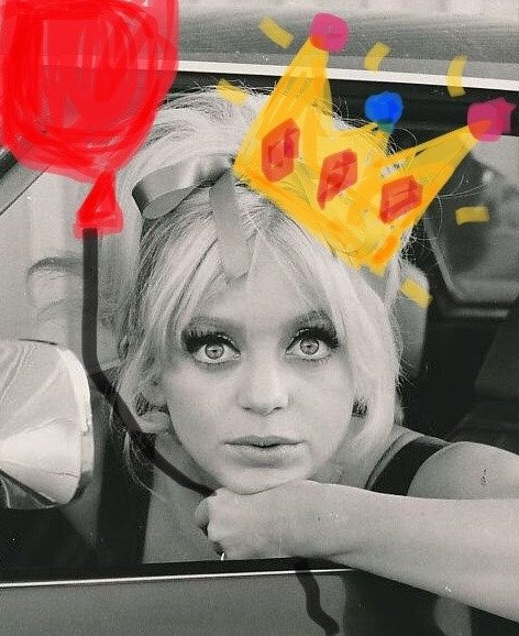 Happy Birthday to the always golden Goldie Hawn!