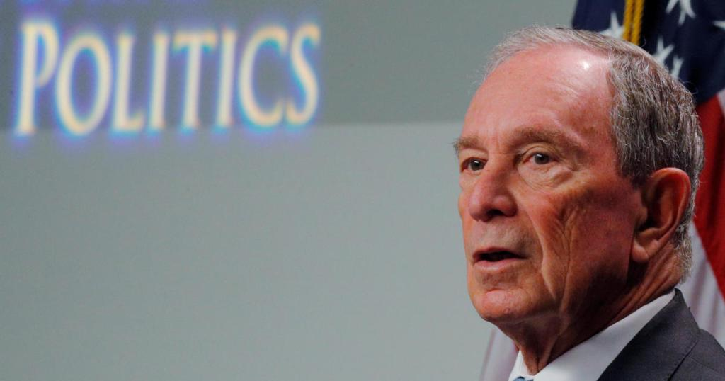 Michael Bloomberg files paperwork for presidential run — but he's not in the race yet
