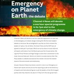 #EmergencyOnPlanetEarthTheDebate